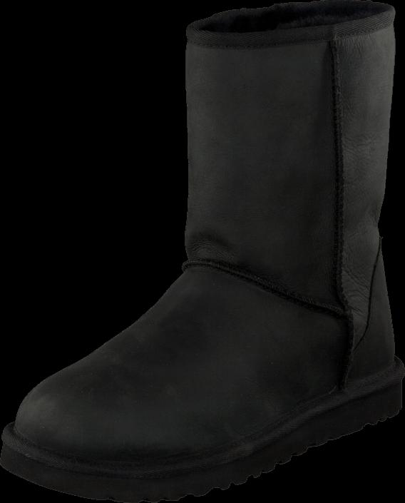 UGG Australia - W Cl Short Leather Black