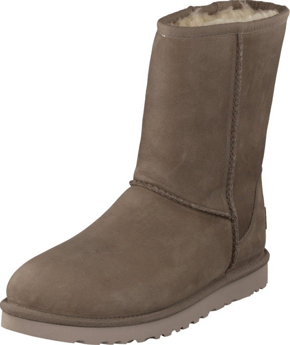 ugg short leather feather