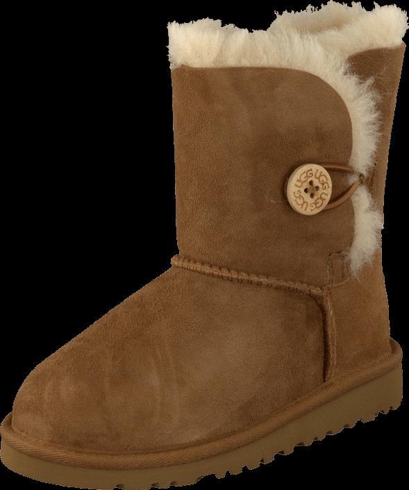 Footway SE - UGG Australia T Bailey Button Chestnut, Skor, Kängor & Boots, Fårskinnsstövlar,  1397.00