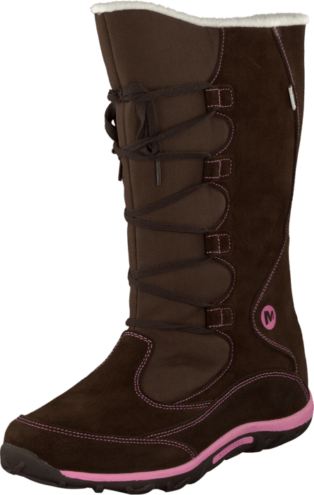 Merrell - Jungle Moc Boot Wtpf Brown / Pink