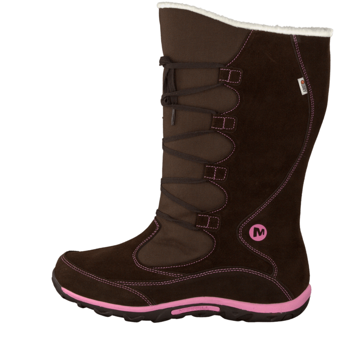 buy merrell jungle moc boot wtpf brown pink brown shoes