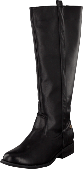 Ilse Jacobsen Rubber Boot With Neoprene Shaft Black, Schuhe, Stiefel & Stiefeletten, Hohe Stiefel, Schwarz, Female, 35