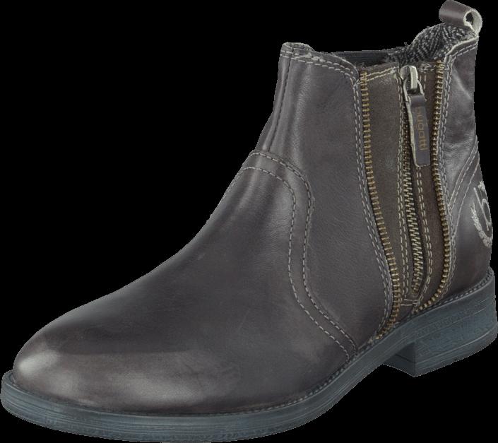 Footway SE - Bugatti 06F7033 Antrazit Grey, Skor, Kängor & Boots, Chelsea Boots, Grå, Herr, 4 1097.00
