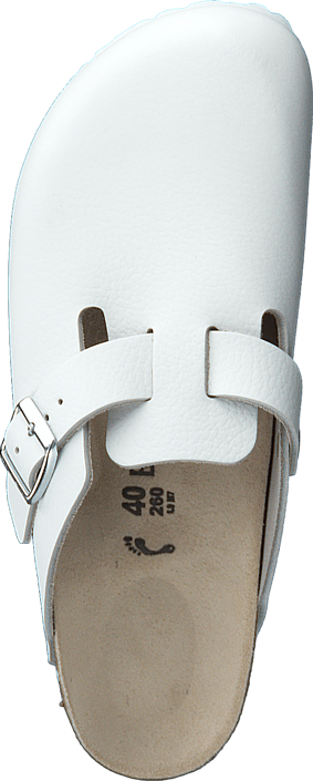 Birkenstock - Boston Slim White