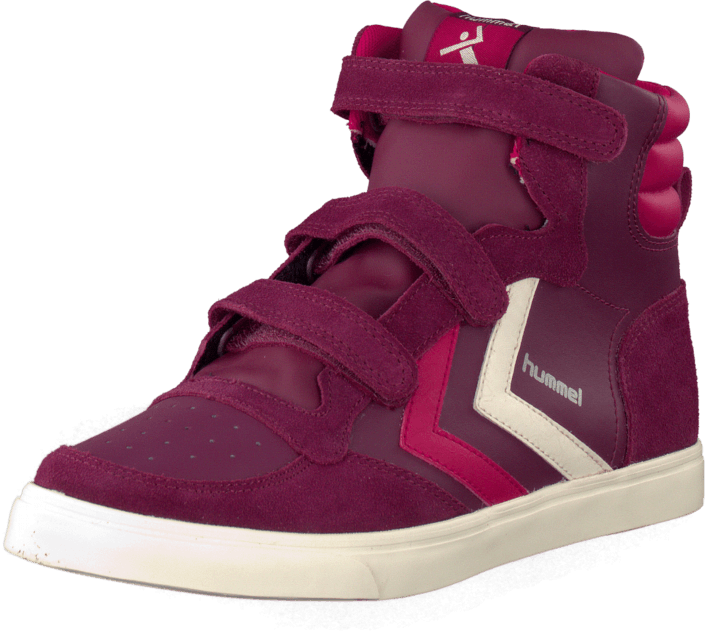 Hummel - Stadil Jr Leather High Purple Potion