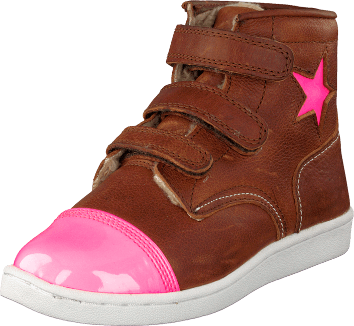 Rugged Gear - Cup Star Fur Cognac/Pink
