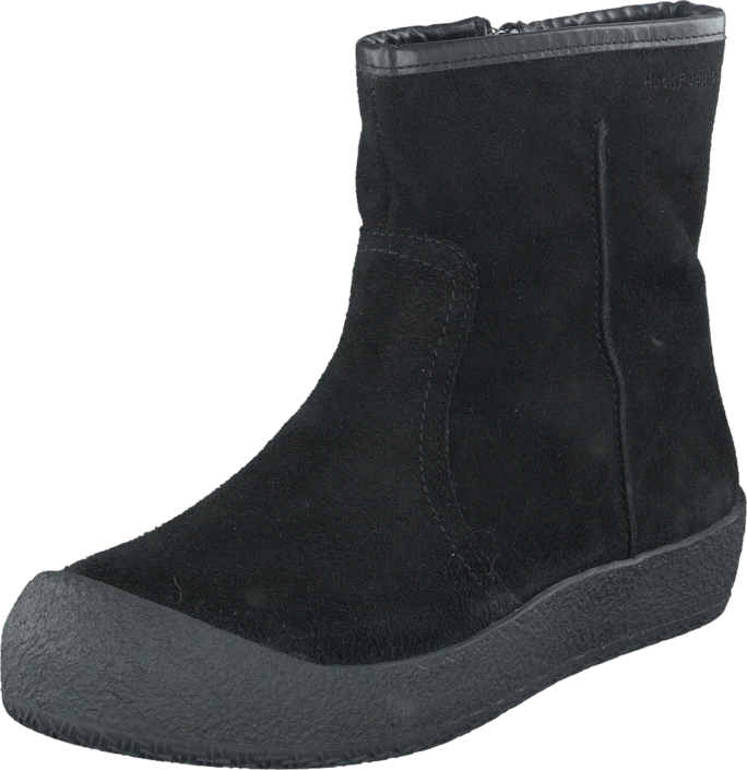 Hush Puppies - Curling boot Black