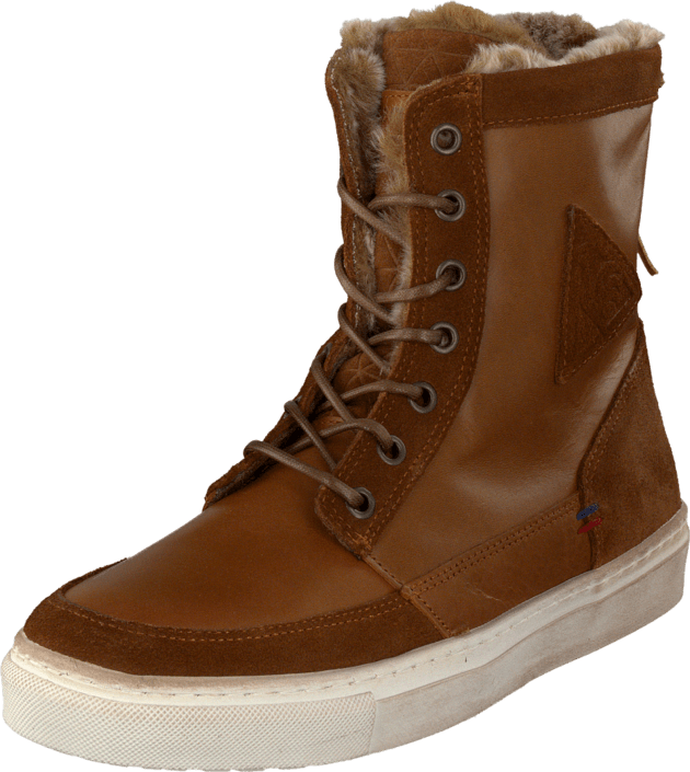 Le Coq Sportif Ancelina Mid Plus Leather Ginger Bread