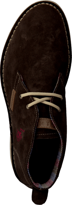 U.S. Polo Assn Amadeus Suede Dark Brown