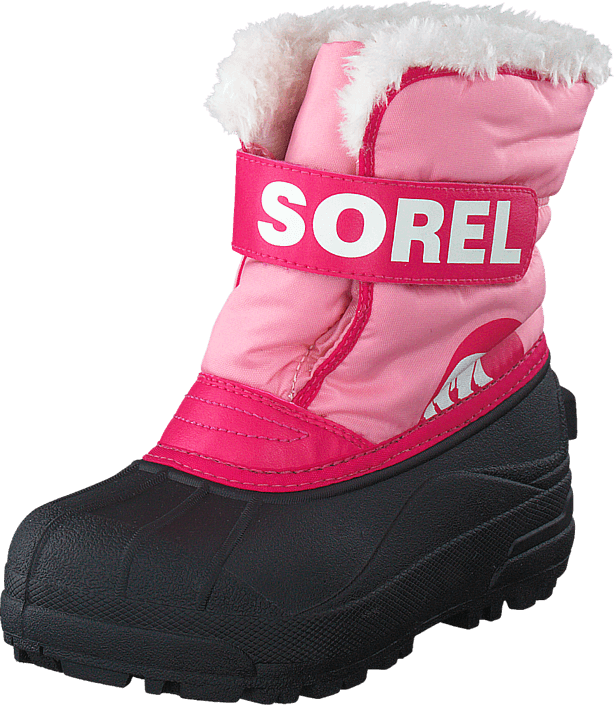 Sorel - Snow Commander 644 Coral Pink, Bright Rose