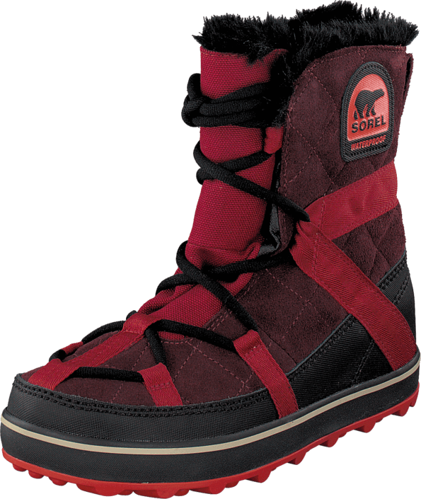 Sorel Glacy Explorer Shortie 259 Madder Brown