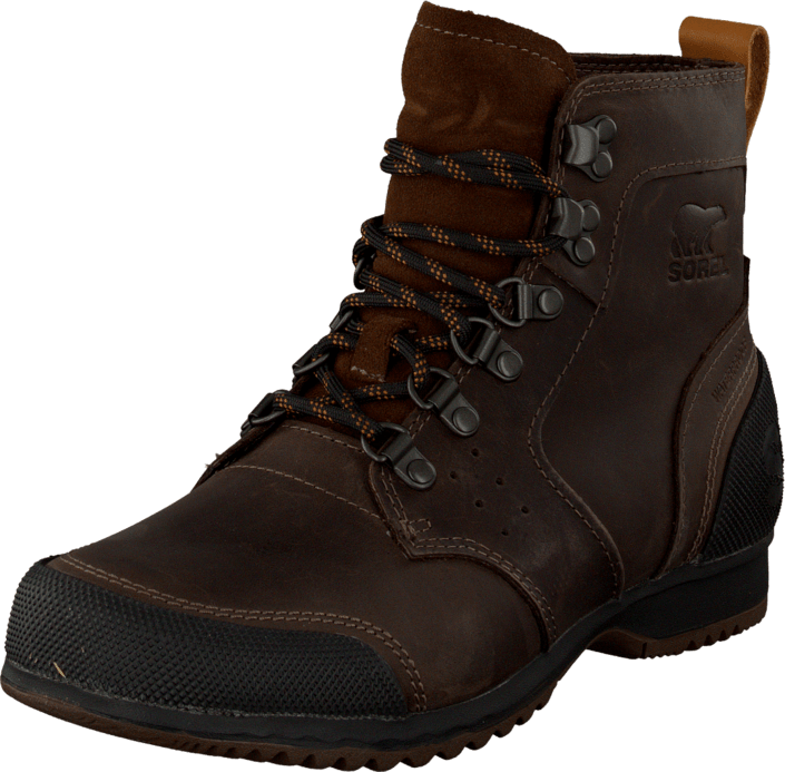 Sorel - Ankeny Mid Hiker Tobacco, Black