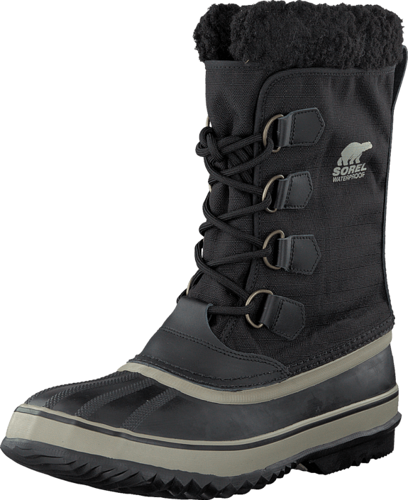 Sorel 1964 Pac Nylon 011 Black, Tusk