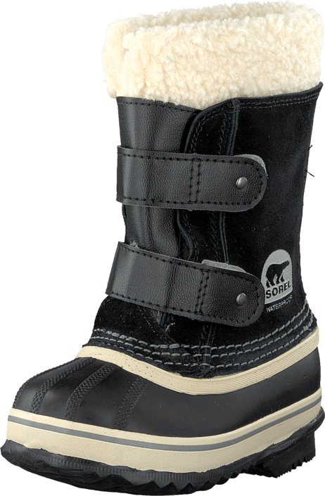 Sorel - Childrens 1964 Pac Strap 010 Black