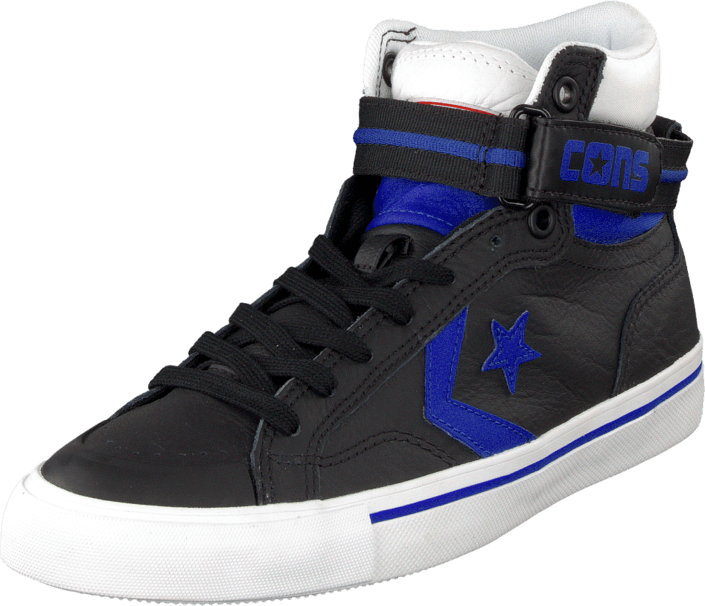 Converse - Pro Blaze Plus Leather Hi Black/Blue/White