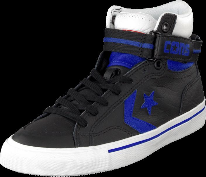 Converse - Pro Blaze Plus Leather Hi Black/Blue/White