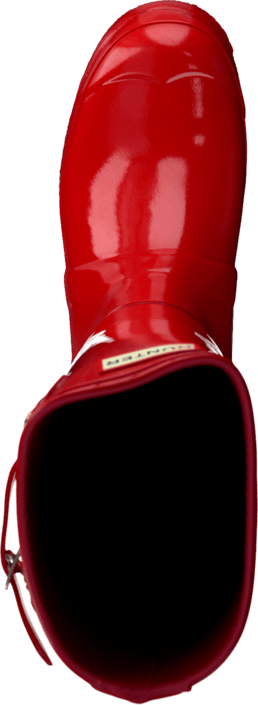 Hunter - Women's Original Tall Gloss Pillar Box Red