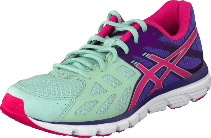 Asics - Gel Zaraca 3 Mint/Neon Pink/Dark Purple