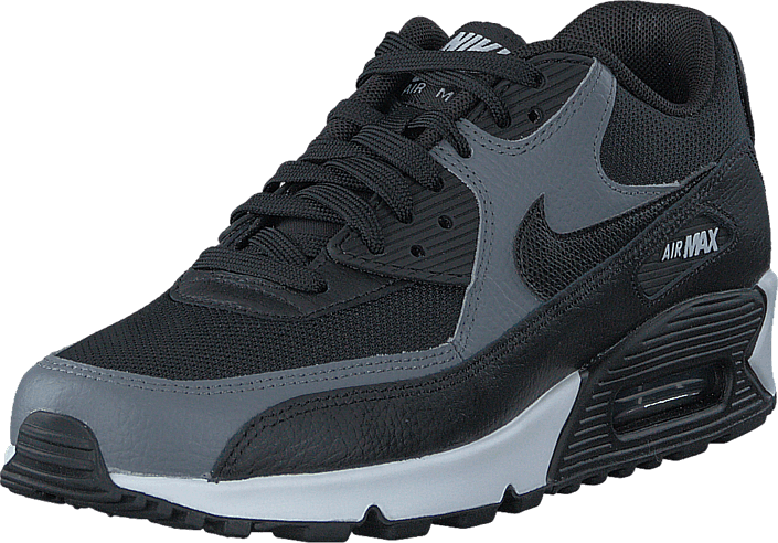 Nike Wmns Air Max 90 Black/Black-Cool Grey-Black