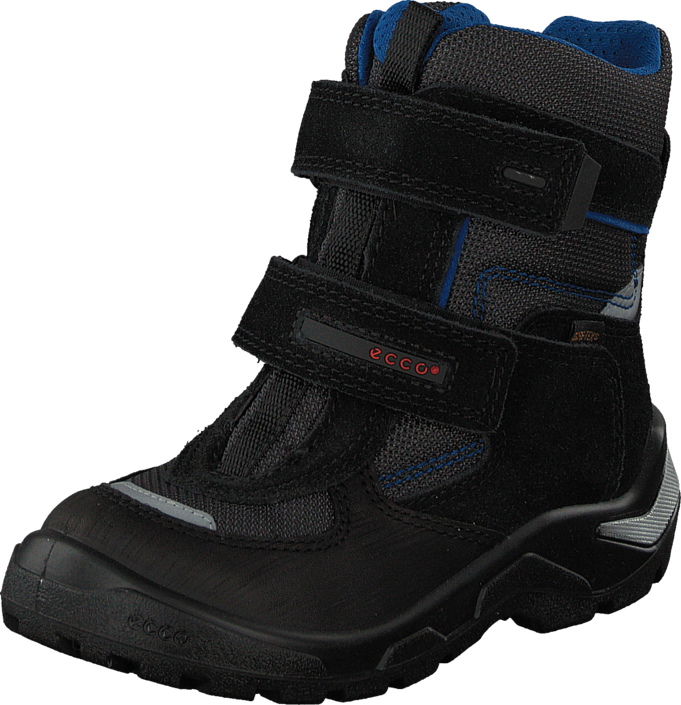 Ecco - Snowride Black/Black/Moonless