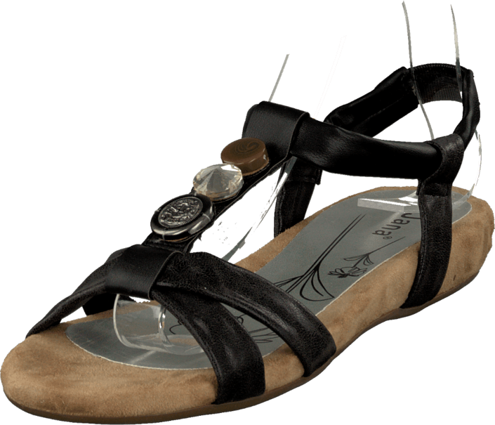 Jana - 28101-24 Black Comb