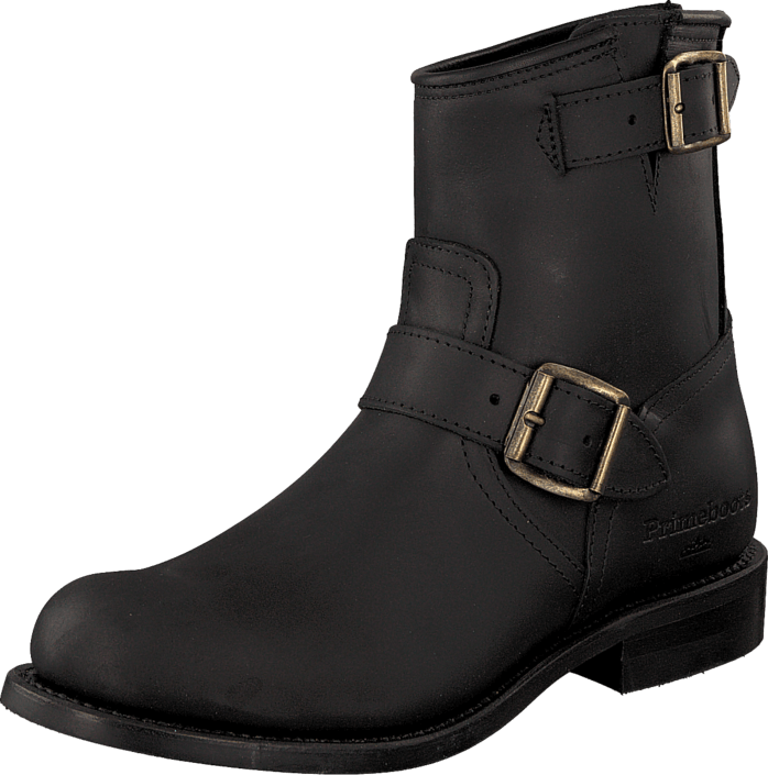 PrimeBoots - Lola low Black brass