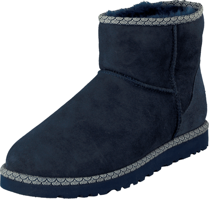 UGG - W Cl Mini Scallop Navy