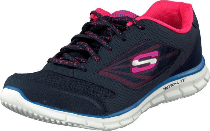 Skechers - Jaguar Navy/coral