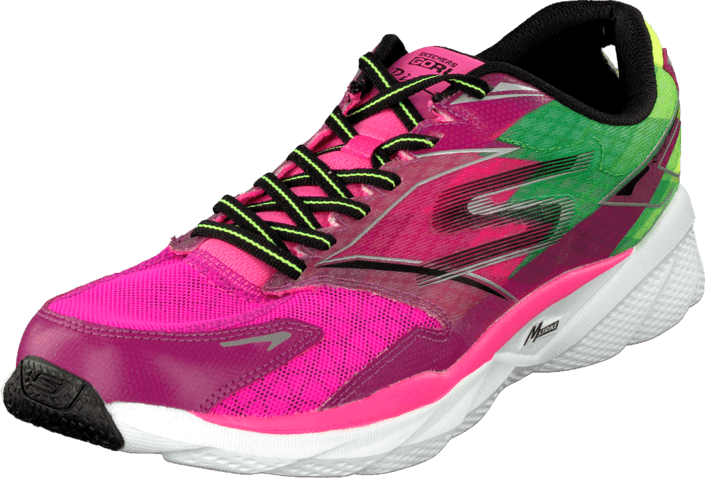 Skechers Go Run 4 Ride Hot pink/lime