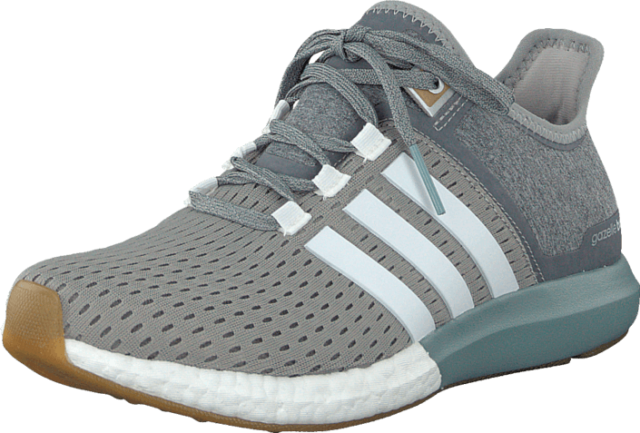 Buy adidas Sport Performance Cc Gazelle Boost W Grey/White/Green Grey Shoes Online | FOOTWAY.co.uk