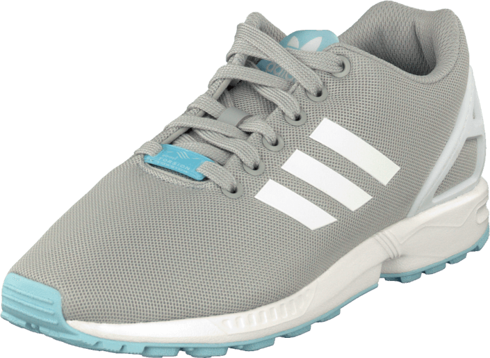 adidas Originals - Zx Flux W Clear Onix/White/Blush Blue