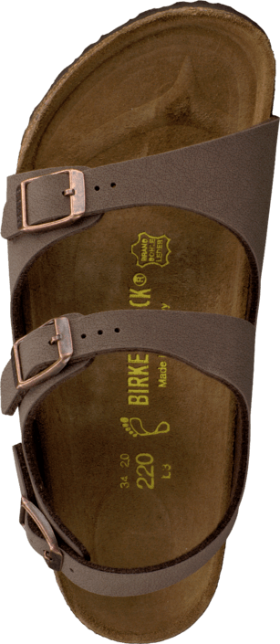 Birkenstock - Roma Regular Birkoflor Mocca Brown