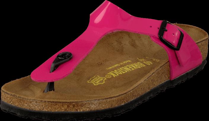 Birkenstock - Gizeh Patent Regular Birkoflor Pink
