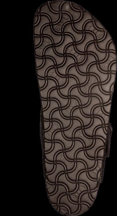 Birkenstock - Gizeh Regular Leather Pebbles Metallic Asphalt