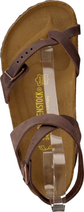 Birkenstock - Yara Regular Leather Habana Brown