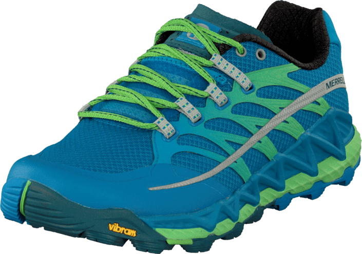 Merrell - Allout Peak Racer Blue/Bright Green