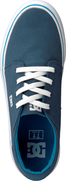DC Shoes Kids Trase Tx Shoe Navy/Bright Blue