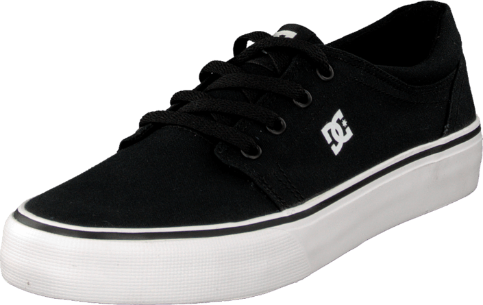DC Shoes - Kids Trase Tx Shoe Black/White