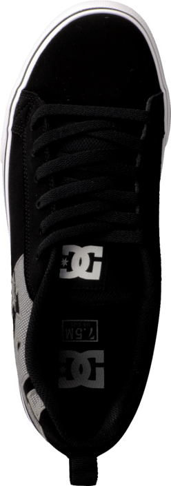 DC Shoes - Court Vulc Se Shoe Black/Grey/Black