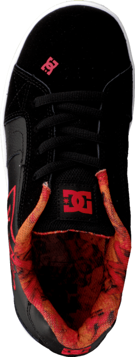 DC Shoes Kids Net Se Shoe Black/Red/White