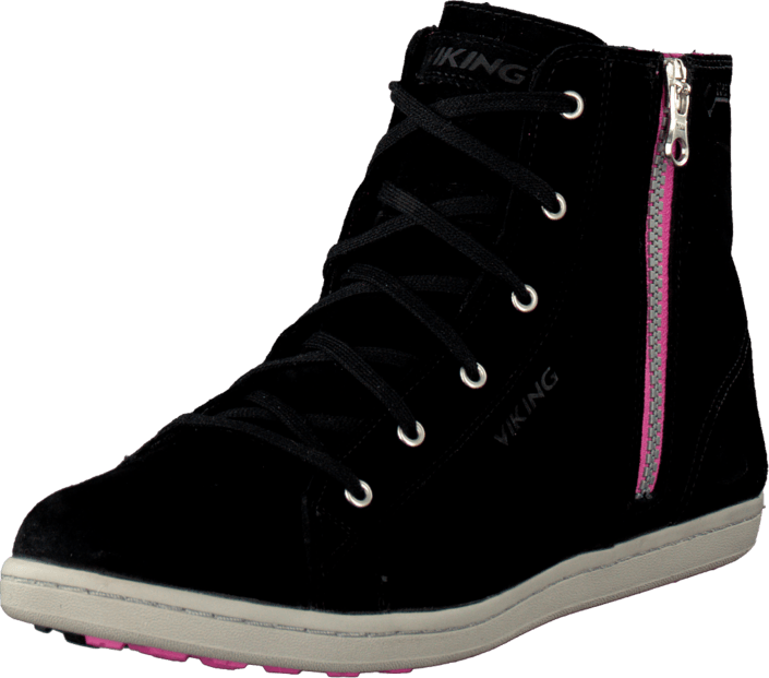 Viking Gjevjon W Black/Dark Pink