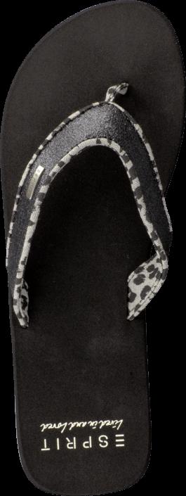 Esprit - Glitter Thongs Black