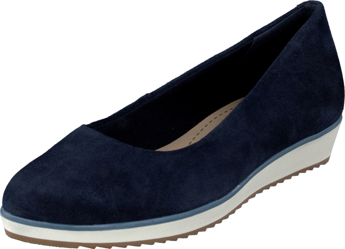 Clarks - Compass Zone Navy Suede