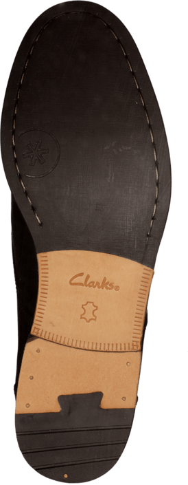 Clarks - Exton Walk Black Leather