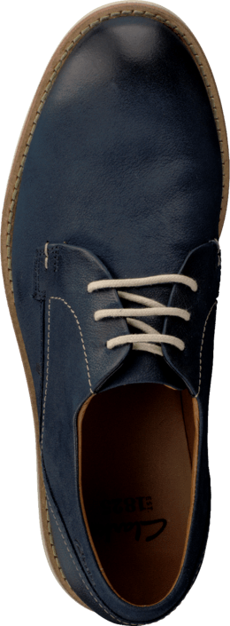 Clarks - Raspin Plan Denim Blue Nubuck