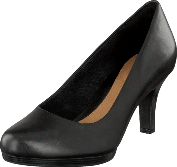 Clarks - Tempt Appeal Black Leather