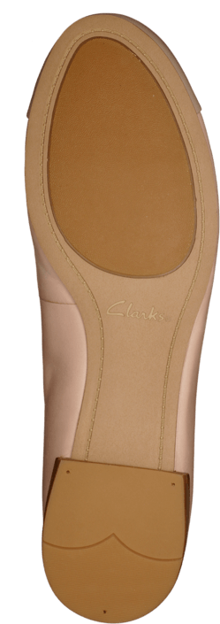 Clarks - Festival Gold Dusty Pink