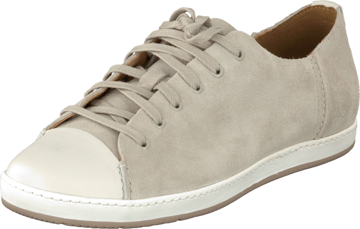Clarks - Flounce Free Chalk Suede