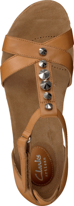 Clarks Raffi Scent Tan Leather