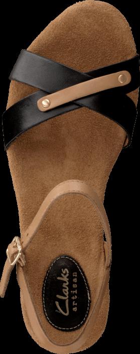 Clarks - Caslynn Regina Black Leather